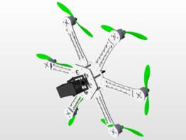 hexacopter - Recent models   3D CAD Model Collection