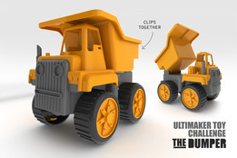 3D PRINTED CAR - TOY TRUCK KIT