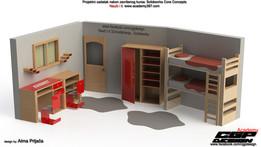 Kids room... design by Alma Prljaca