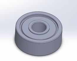 PrintrBot Simple Metal Y Axis Belt Bearing