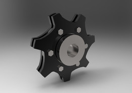 Segmental Sprocket and Hub assembly (7 teeth)