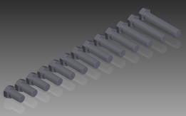 M22 DIN 933 (Fully Threaded) M6S Hexagon Head Bolts
