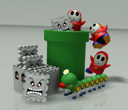 Shy Guy (Super Mario Bros. 3)