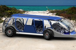 Amphibious Beach bus