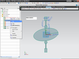 Tutorial How to use Animate Dimension command in NX