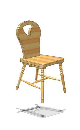 Stuhl, tavern chair