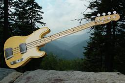 Fender Telecaster Bass - AutoCAD 2008