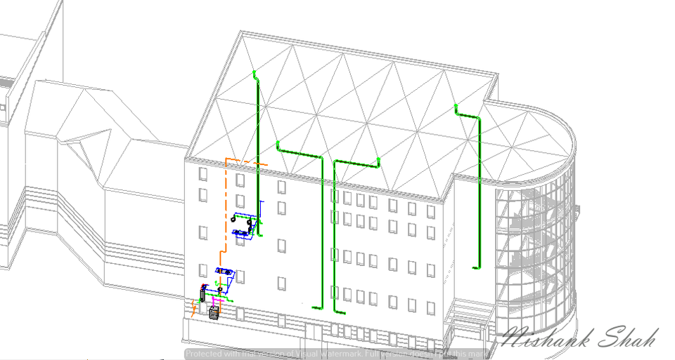 Plumbing Template using Revit MEP | 3D CAD Model Library | GrabCAD