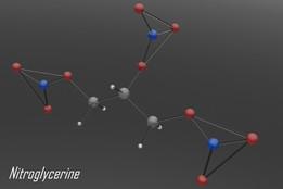 Nitroglycerine Molecule