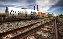 Train Rail Car - Tanker