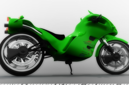 H-P Motorcycle by Tommy