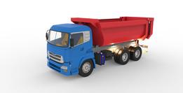 Dump truck working (Damperli kamyon çalışması)
