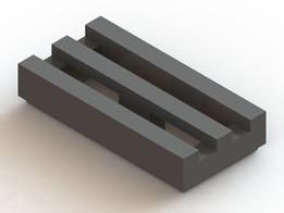 Lego Corrugated Plate