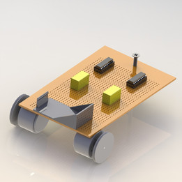 Line Track Robot