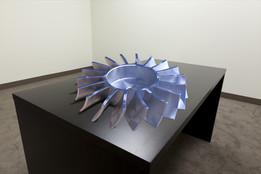 Aluminium fan