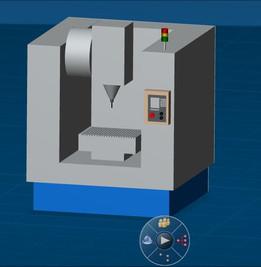 CNC 3-Axis Milling Machine