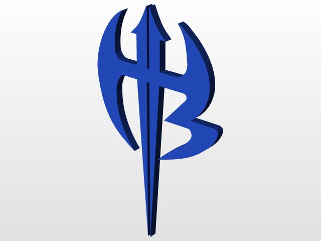 Jeff Hardy Logo 3d Cad Model Library Grabcad