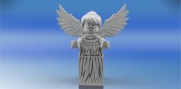 Lego Weeping Angel Minifigure