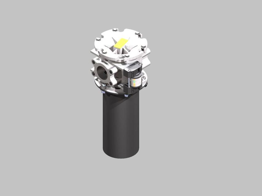 Parker Moduflow Plus Filter | 3D CAD Model Library | GrabCAD