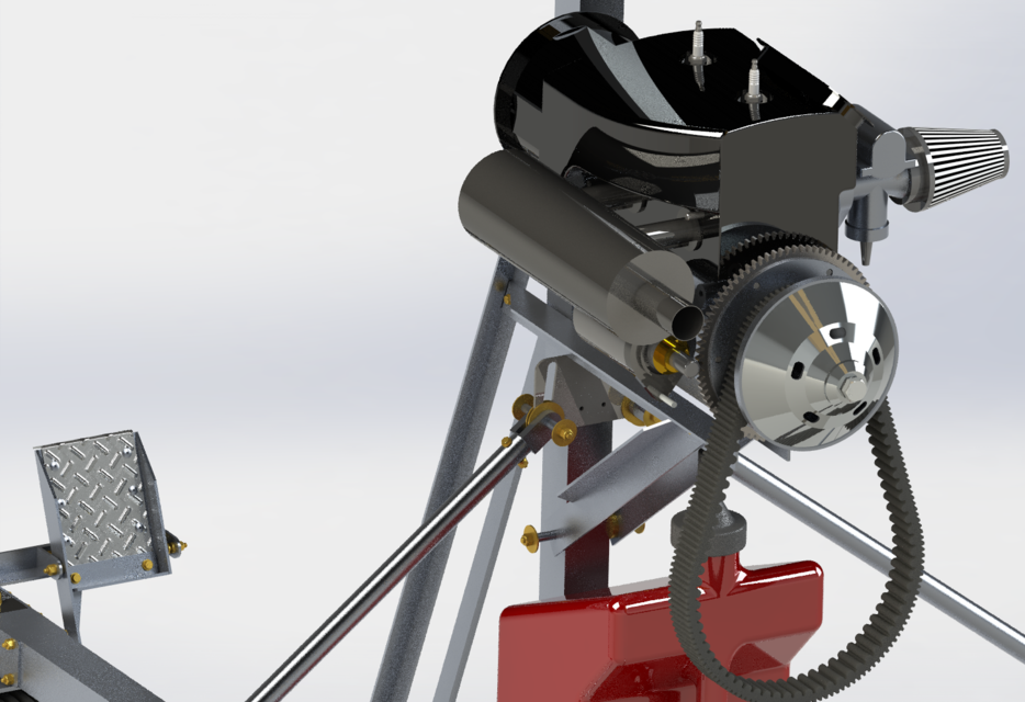 GyroBee Gyrocopter | 3D CAD Model Library | GrabCAD