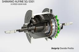 SHIMANO Alfine SG-S501