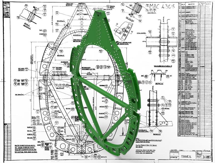 SUPERMARINE SPITFIRE MK VII | 3D CAD Model Library | GrabCAD