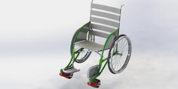 Silla de ruedas para el campo (Wheelchair to the field)