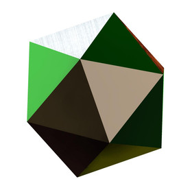 polyhedron ( only used extrude command to model this )