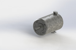 Compact Round-Face DC Motor