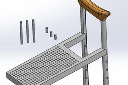 Crutch table