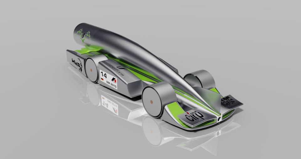 F1 In Schools Team Rev Up German Nationals Car 3d Cad Model Library Grabcad