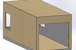 Modular Portable Garage - Architecture
