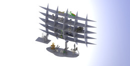Display, Stainless Steel Shelving Unit...For The Bugs, metalcraftdesign