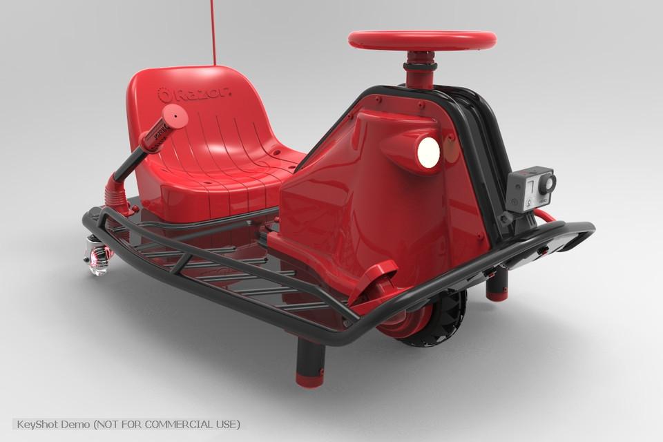 how to make a crazy cart