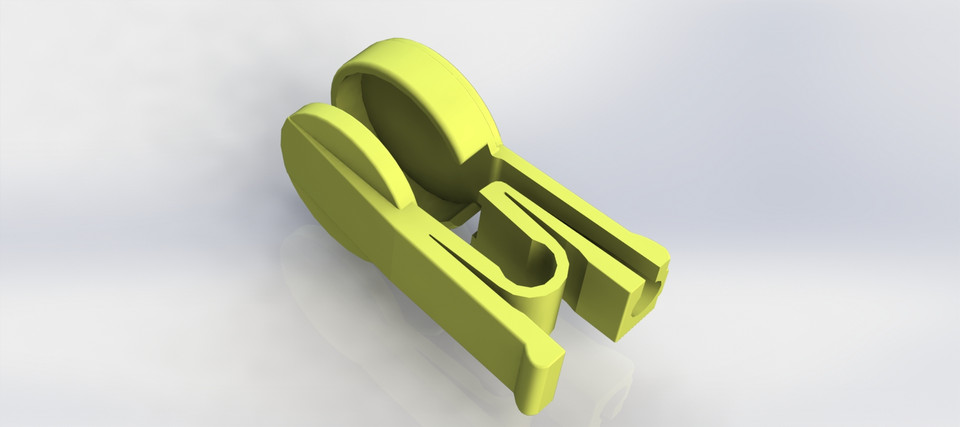 Finger clip for Pulse sensor Arduino | 3D CAD Model Library
