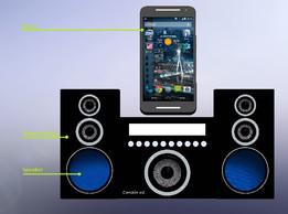 """5"""" Phone Speaker // Altavoz para móviles de 5 pulgadas"""