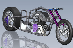 Project drag bike