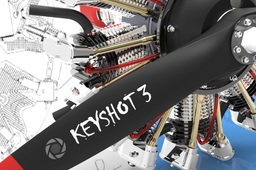 KeyShot Rendering on Radial Engine by Jan Elg