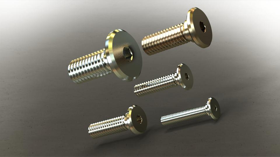 Thread Locking Shoulder Screw Thread Size 5//16-18 Thread Size 5//16-18 FastenerParts 316 Stainless Steel