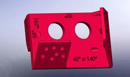 Montura Multiángulo para sensor HC SR04