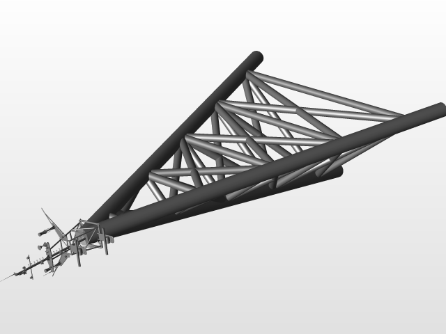 GSM tower | 3D CAD Model Library | GrabCAD