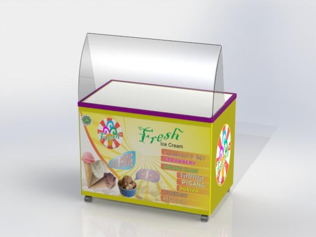 Mini Booth Mini Ice Cream Booth Step