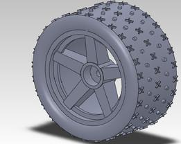 Nitro Car Wheel