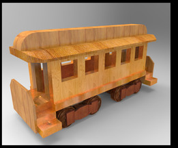 Toy - Passenger Car