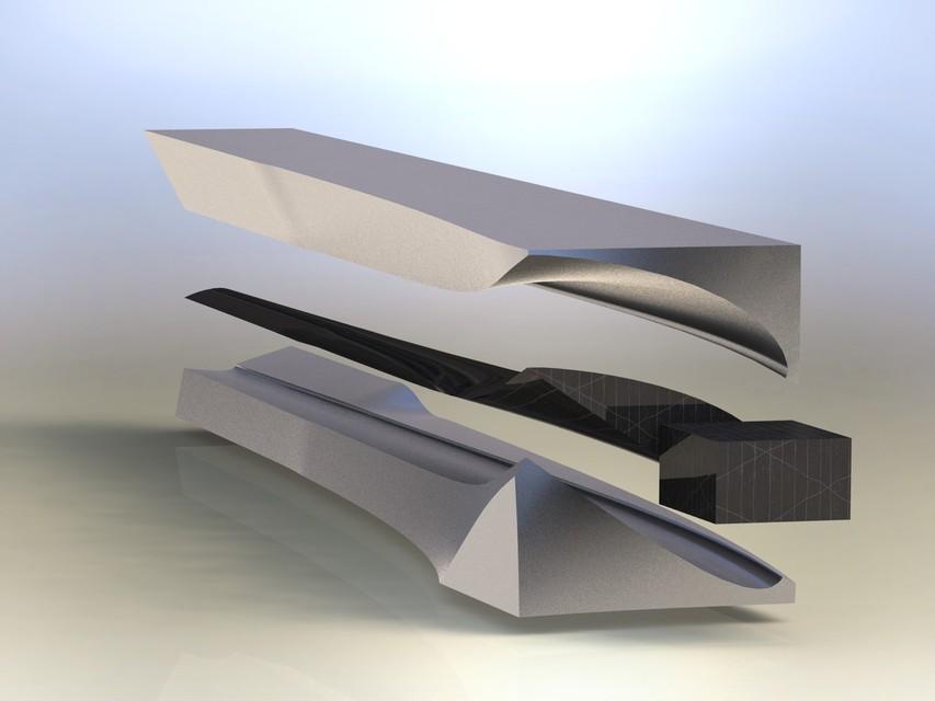 WIND TURBINE BLADE 10 MOULD ASM  | 3D CAD Model Library