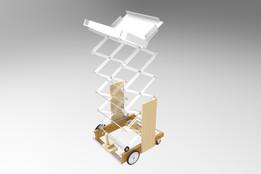 Warman Mechanical Vehicle