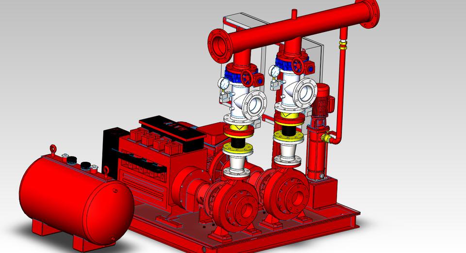 pump - Most downloaded models | 3D CAD Model Collection