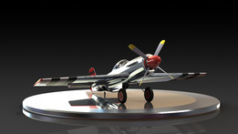 p51 mustang complete project with assembly
