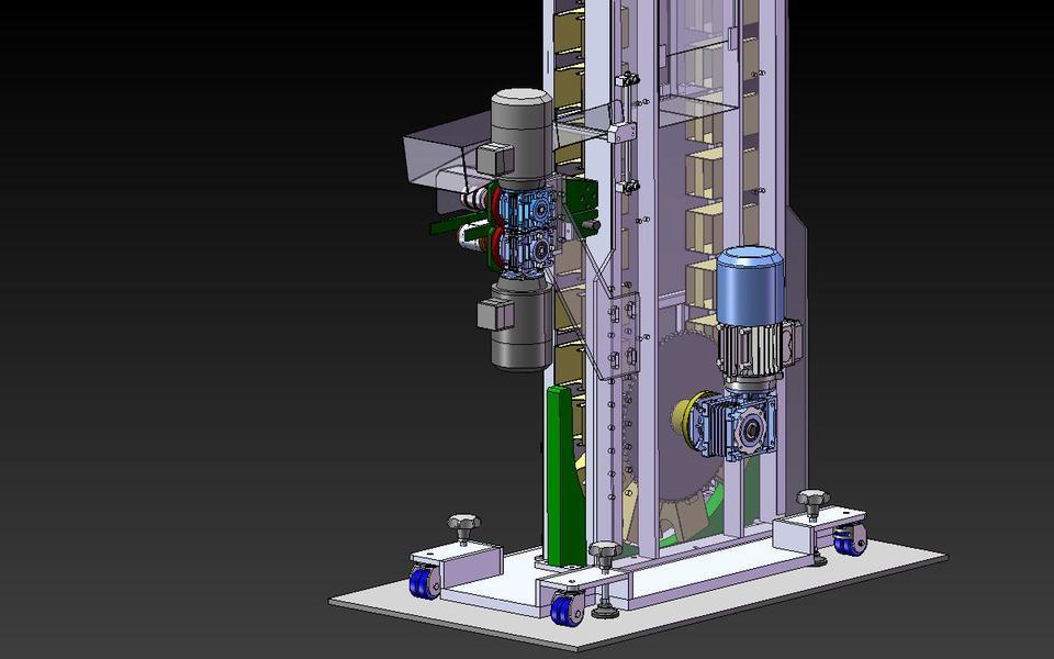 Elevator machine    3D CAD Model Library   GrabCAD
