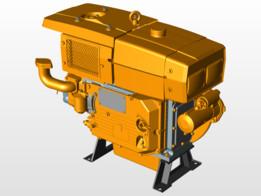 Branco BDA 22.0 Diesel engine
